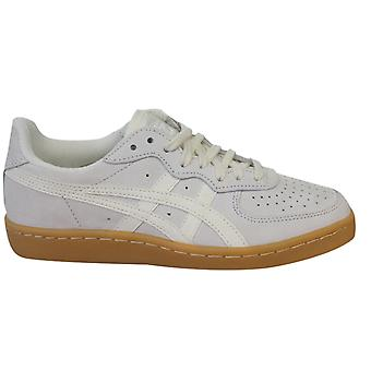 Asics Onitsuka Tiger GSM Lace Up Unisex Trainers White Suede D5K1L 0000 B27D