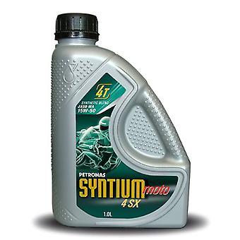 Petronas Syntium Moto 4 SX 15W-50 Helsyntetetiska 4-takts motorolja 1L