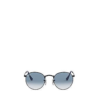 راي بان RB3447 غير لامع النظارات الشمسية للجنسين الأسود