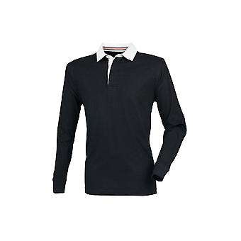 Front Row Premium Superfit Rugby Shirt - Tag-Free FR104