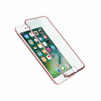 Aquarius 3D Metall gehärtet Bildschirm Schutz für iPhone 6/7/7 + - Rose Gold