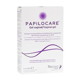 Papilocare Vaginal Gel 2 units of 40ml