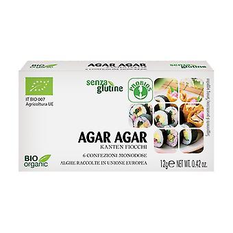 Agar Agar kerta-annoksena - Gluteeniton 6 yksikköä