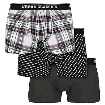 Urban Classics - MIXED Boxer Shorts 3-pack