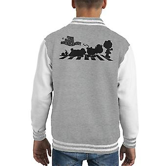 The Magic Roundabout Characters Silhouette Kid's Varsity Jacket