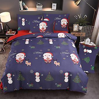 Christmas elk Printed Bedding Set