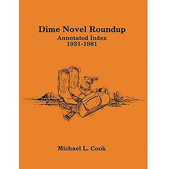 Dime Novel Roundup Annotated Index by Cook - 9780879722289 Book