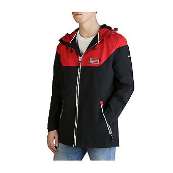 Geographical Norway - Clothing - Jackets - Afond-man-red-black - Men - red,black - L