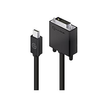 Alogic 2M Active Mini Displayport To Dvi D Cable With 4K Support