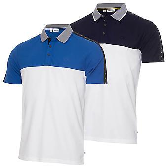 Calvin Klein Mens 2021 Trevino Lightweight Wicking Quick Dry Golf Polo Shirt