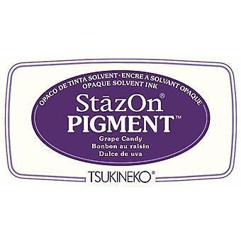 Stazon Pigment Mustetyyny Rypäleen karkit