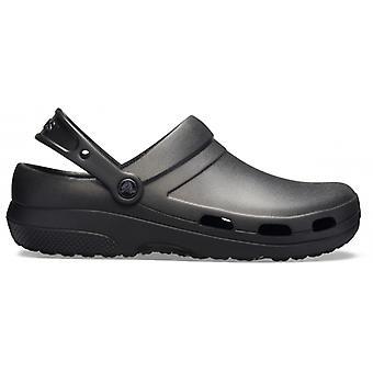 Crocs At Work 205619 Specialist Ii Vent Unisex Clogs Black