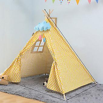 الأطفال & ق غرفة الأميرة خيمة داخلية لعب البيت للطي لعبة خيمة, الحجم:1.35m (موجة)
