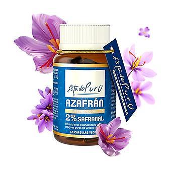 Saffron 2% Safranal 40 capsules