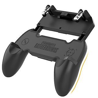 PUBG Gamepad Joystick Mobiele Controller Telefoonhouder, Zeer gevoelige zoeker en schieten voor PUBG / Fortnite / Knives Out / Rules of Survival, 4,5 inch-6,5 inch (zwart)