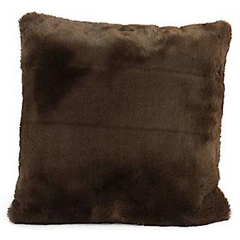 pillow Jozias 45 x 15 cm fleece brown