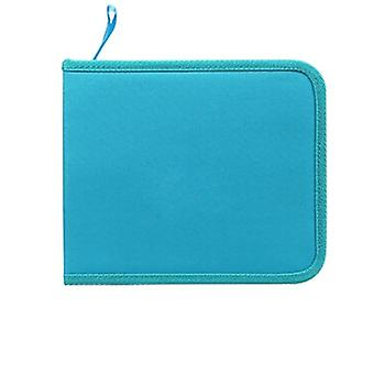 Pencil Box Zipper Solid Color Pencil Bag