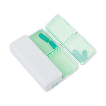 7-grid Pill Box With Strong Magnet Flap Portable Medicine Box