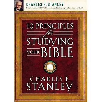 10 Principes voor het bestuderen van uw Bijbel door Charles F. Stanley