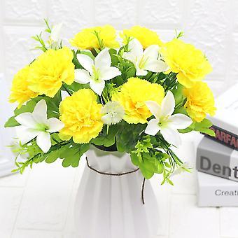 5pcs emulación flor de flores de flores de flores props flores secas flor falsa flor
