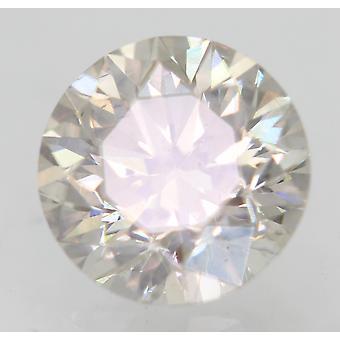 Sertifioitu 0,70 karat K VS2 pyöreä loistava parannettu luonnollinen löysä timantti 5,57mm