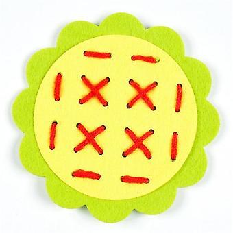 Montessori Educational's Creativity Manual Weave Cloth Early Learning.