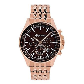 Gigandet G3-013 - Men's watch, stainless steel strap, color: rose gold