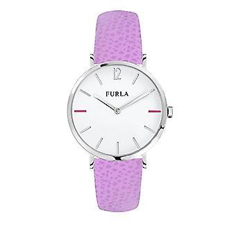 FURLA Reloj analógico de cuarzo mujer con correa de cuero R4251108512