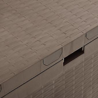 vidaXL Gartenbox Braun 114x47x60 cm