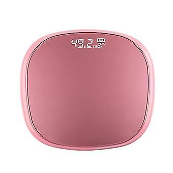 الوردي مقياس رقمي وزن الجسم الرقمي مع الزاوية المستديرة أدى عرض مقياس الحمام 400 رطل cai881