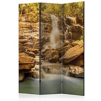 3-teiliges Paravent - Sunny Waterfall [Room Dividers]