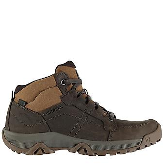 Merrell Mens Anvik Pace Walking Boots Padded Ankle Hiking Ultra Grip Comfy Shoes