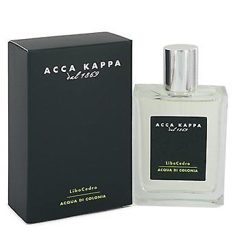Libocedro eau de cologne spray by acca kappa 542445 100 ml