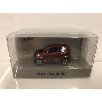 Minichamps 870098100 e.GO Life 2018 Red Metallic 1:87 Scale