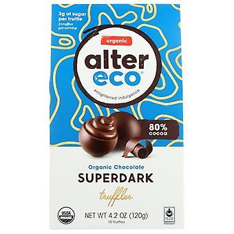 Alter Eco Choc Truffle Superdark, Case of 8 X 4.2 Oz