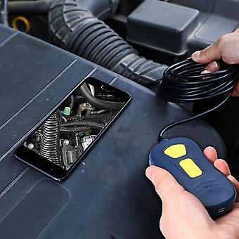 Endoscópio sem fio endoscópio wifi borescope câmera de cobra ip67 inspeção hd impermeável com 6 luzes led