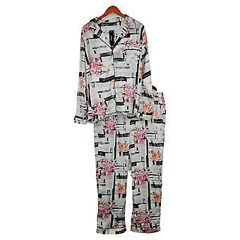 Tolani Collection Women's Printed Pajama Set Black A390127