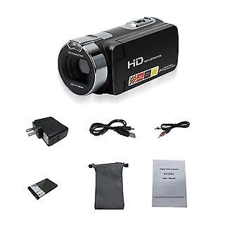 Hight كاميرا رقمية جديدة كاملة HD 1080p 16x كاميرا فيديو مسجل التكبير 3'' لمسة dv dvr 24mp كاميرا فيديو