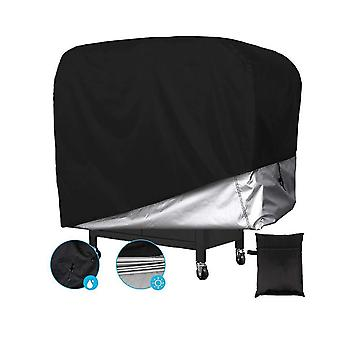420d Oxford Fabric Grill Cover, Waterproof, Uv-resistant And Tear-resistant Heavy-duty Barbecue Gas