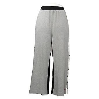 MIND BODY LOVE By Peace Love World Women's Petite Pants Gray A392761