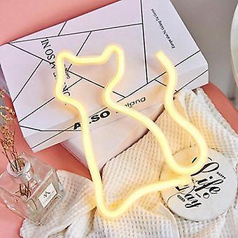 Led Neon Sign Light, Lampă impermeabilă în formă de animal