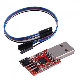 Usb To Ttl Uart 6pin Module Serial Converter Cp2102 Stc Prgmr Free Cable