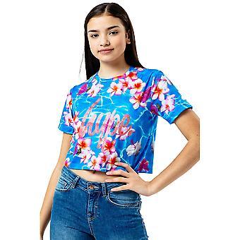 Hype Girls Hawaii Zwembad Crop T-Shirt
