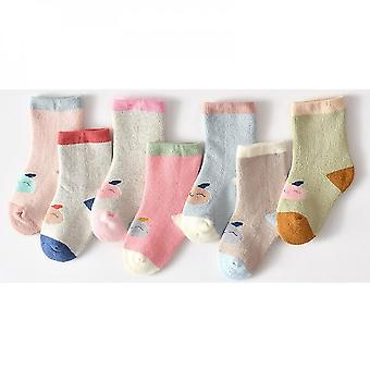 Cosy 5 Pairs Baby Non Slip Winter Socks(L)
