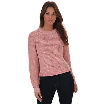 Women's Vero Moda Lea Raglan Sleeve Jumper in Pink