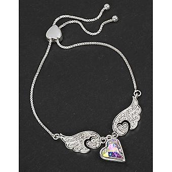 Equilibrium Guardian Angel Wings Heart Friendship Bracelet