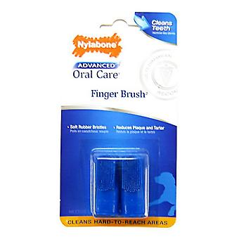 Nylabone Advanced Oral Care Finger Brush - 2 Pack