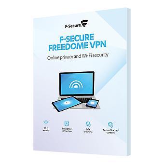 F-Secure Freedome VPN, (1 år, 3 enheder), ubegrænset data, ingen regis