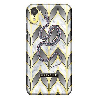 iPhone XR Marvêlle Magnetisk Skall Gyldne Blader