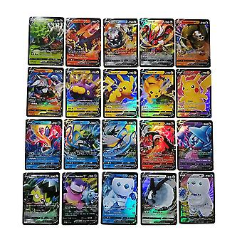 Hywell 60v Cards Pokemon All Flash Card Game Cards 19 Vmax + 41 V